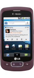 LG Optimus T Burgundy (T-Mobile)