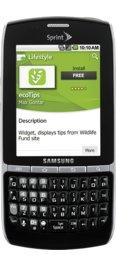 Samsung Replenish Black (Sprint)