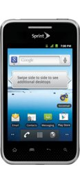 LG Optimus Elite - Black (Sprint)
